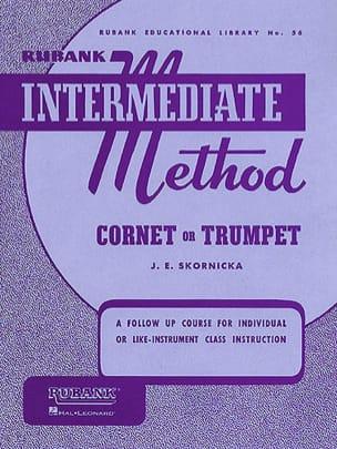 J.E. Skornicka - Método Intermedio Rubank Cornet o Trompeta - Partitura - di-arezzo.es