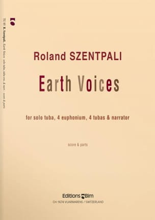 Roland Szentpali - Earth Voices - Partition - di-arezzo.fr