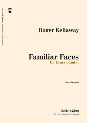 Roger Kellaway - Familiar Faces - Partition - di-arezzo.fr