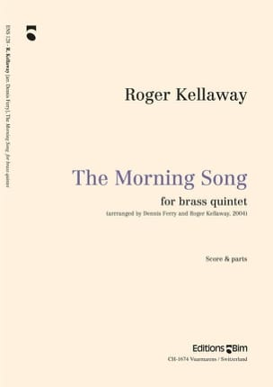 The Morning Song - Roger Kellaway - Partition - laflutedepan.com