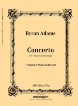 Byron Adams - Concerto - Partition - di-arezzo.fr