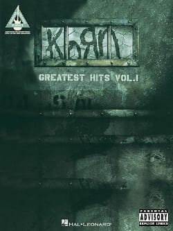 Korn - Greatest Hits Volume 1 - Sheet Music - di-arezzo.co.uk