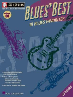 - Jazz play-along volume 30 - Blues' Best - Sheet Music - di-arezzo.co.uk