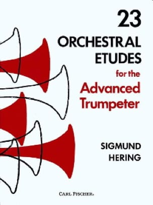 Sigmund Hering - 23 Orchestral Studies For The Advanced Trumpeter - Sheet Music - di-arezzo.com