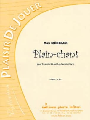 Max Méreaux - Plain-Chant - Partition - di-arezzo.fr