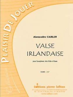 Alexandre Carlin - Irish waltz - Sheet Music - di-arezzo.co.uk