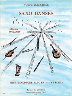 Yvonne Desportes - Saxo Dances - Sheet Music - di-arezzo.co.uk