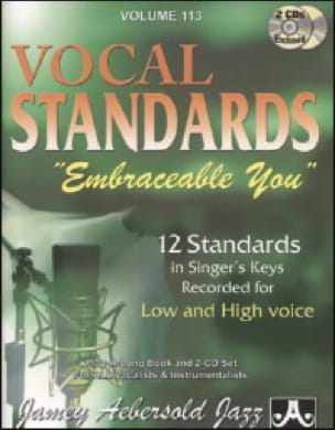 METHODE AEBERSOLD - Volume 113 - Embraceable Vocal Standards You - Ballads For All Singers - Sheet Music - di-arezzo.com