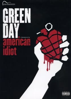 American Idiot Green Day Partition Pop / Rock - laflutedepan