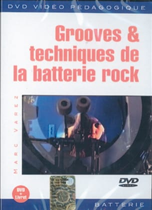 Marc Varez - DVD - Grooves - Rock Drum Techniques - Sheet Music - di-arezzo.com