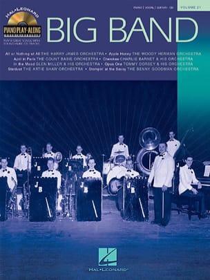 Piano Play-Along Volume 21 - Big Bands Partition Jazz - laflutedepan