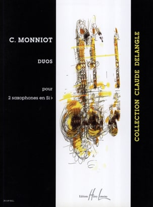 Christophe Monniot - Duos for 2 Bb Saxophones - Sheet Music - di-arezzo.co.uk