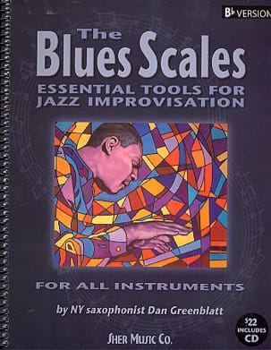 The Blues Scales Bb Version - Dan Greenblatt - laflutedepan.com