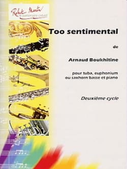Arnaud Boukhitine - Too Sentimental - Partition - di-arezzo.fr