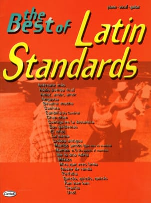 - The Best Of Latin Standards - Partition - di-arezzo.fr