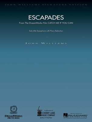 John Williams - Escapades - From The Film Catch Me If You Can - Partition - di-arezzo.fr