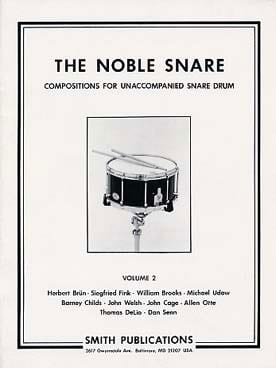 The Noble Snare Volume 2 - Partition - di-arezzo.fr