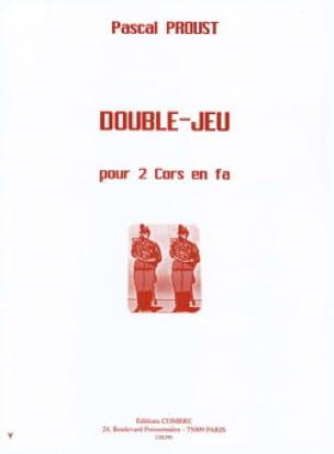 Double-Jeu - Pascal Proust - Partition - Cor - laflutedepan.com