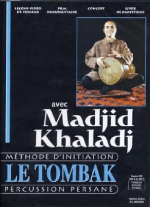 Madjid Khaladj - DVD - The Tombak Zarb - Sheet Music - di-arezzo.co.uk