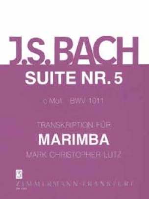 Suite N° 5 C-Moll BWV 1011 - BACH - Partition - laflutedepan.com