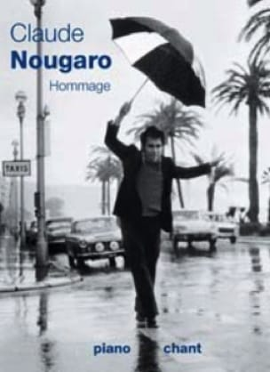 Claude Nougaro - Tribute - Sheet Music - di-arezzo.co.uk