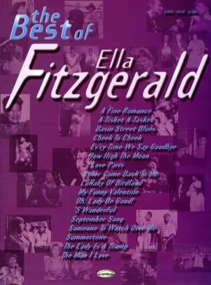 Ella Fitzgerald - The Best Of Ella Fitzgerald - Partition - di-arezzo.fr