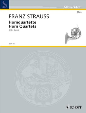 Franz Strauss - Horn Quartette - Partition - di-arezzo.co.uk