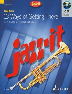 Jazz-It David Cullen Partition Trompette - laflutedepan