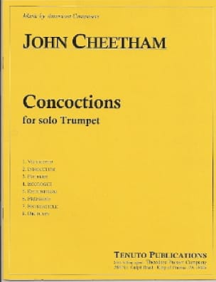 John Cheetham - concoctions - Sheet Music - di-arezzo.com