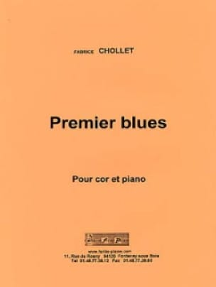 Fabrice Chollet - Premier Blues - Partition - di-arezzo.fr