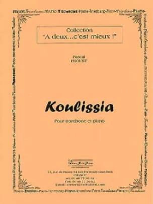 Koulissia - Pascal Proust - Partition - Trombone - laflutedepan.com