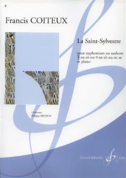 La Saint-Sylvestre Francis Coiteux Partition Tuba - laflutedepan