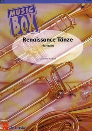 Giovanni G. Gastoldi - Renaissance tanze - music box - Sheet Music - di-arezzo.co.uk