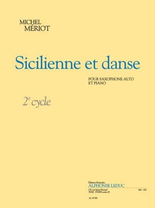 Michel Mériot - Sicilian and Dance - Sheet Music - di-arezzo.com