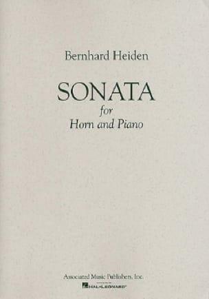 Sonata - Bernhard Heiden - Partition - Cor - laflutedepan.com