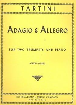 Giuseppe Tartini - Adagio & Allegro - Partition - di-arezzo.fr
