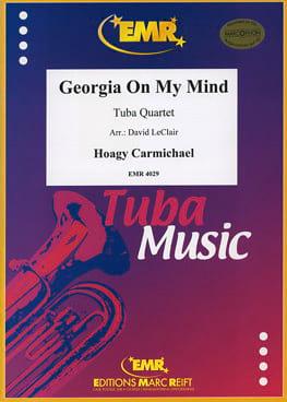 Georgia On My Mind Hoagy Carmichael Partition Tuba - laflutedepan