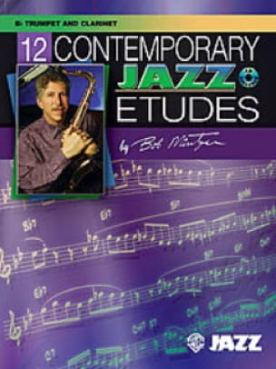 Bob Mintzer - 12 Contemporary Jazz Etudes - Sheet Music - di-arezzo.com