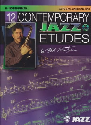 Bob Mintzer - 12 Contemporary Jazz Etudes - Sheet Music - di-arezzo.co.uk