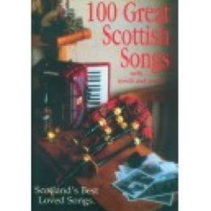 100 Great Scottish Songs - Partition - di-arezzo.fr