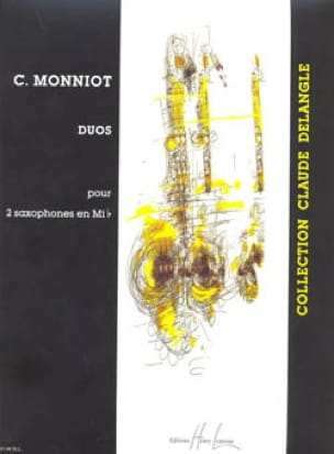 Christophe Monniot - Duos for 2 Eb Saxophones - Sheet Music - di-arezzo.co.uk