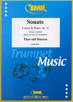 Sonate Opus 18 - Thorvald Hansen - Partition - laflutedepan.com