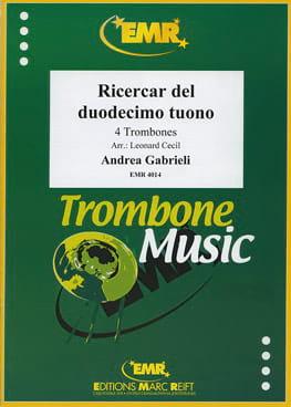 Ricercar Del Duodecimo Tuono - Andrea Gabrieli - laflutedepan.com