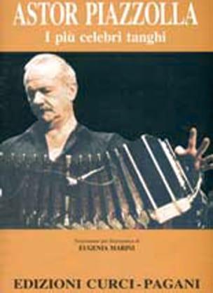 I Piu Celebri Tanghi - Astor Piazzolla - Partition - laflutedepan.com