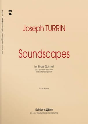 Soundscapes - Joseph Turrin - Partition - laflutedepan.com