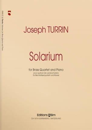 Solarium - Joseph Turrin - Partition - laflutedepan.com