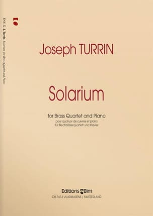 Joseph Turrin - Solarium - Sheet Music - di-arezzo.com