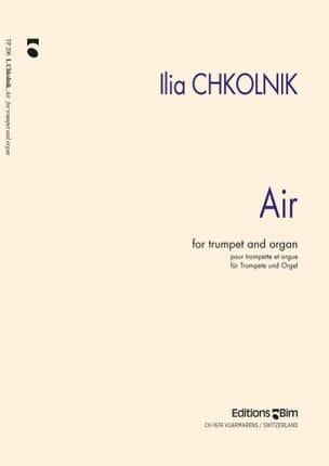 Air Ilia Chkolnik Partition Trompette - laflutedepan