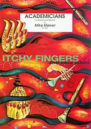 Academicians - Mike Mower - Partition - Saxophone - laflutedepan.com