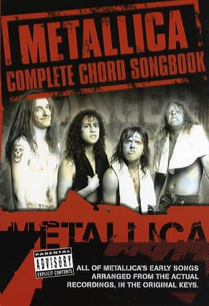 Complete Chord Songbook Metallica Partition Pop / Rock - laflutedepan
